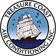 Treasure Coast Air Conditioning Inc Logo, Serving South Florida for over 30 years, We service Palm City, Jensen Beach, Stuart, Hobe Sound, Sewalls Point, Hutchinson Island, Fort Pierce, Port. St. Lucie and surrounding areas.