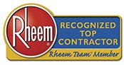 Rheem AC - Recognized Top Contractors Group