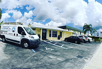 Treasure Coast Air Conditioning, Inc. Box Van, TC Air services South Florida for over 30 years, They service Palm City, Jensen Beach, Stuart, Hobe Sound, Sewalls Point, Hutchinson Island, Fort Pierce, Port. St. Lucie and surrounding areas.